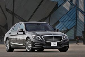 Foto Perfil Mercedes S-class-plugin-hybrid Berlina 2013