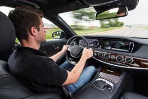 Foto Salpicadero Mercedes S-class-plugin-hybrid Berlina 2013