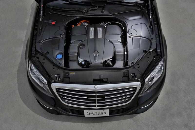 Foto Tecnicas Mercedes S-class-plugin-hybrid Berlina 2013