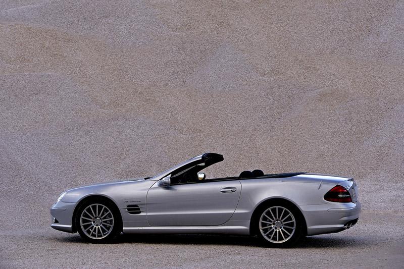 Foto Perfil Mercedes Sl 55 Amg Descapotable 2007