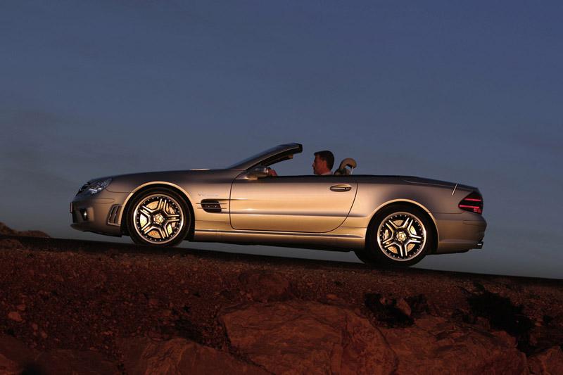 Foto Perfil Mercedes Sl 65 Amg Descapotable 2007