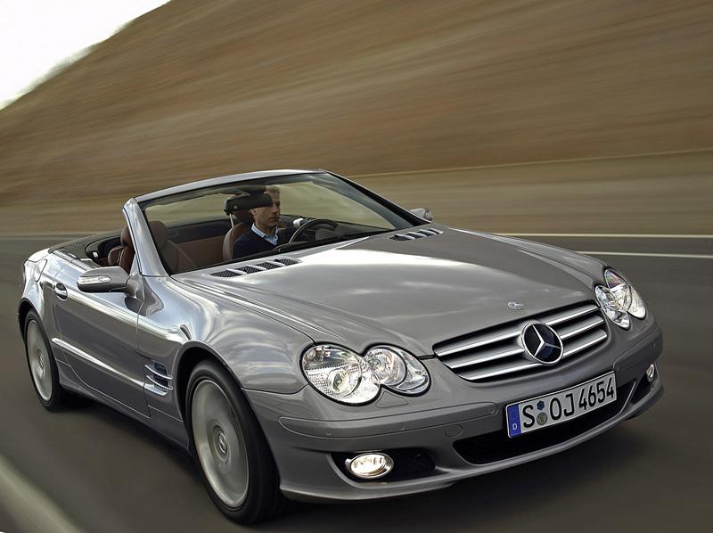 Foto Delantero Mercedes Sl Descapotable 2008