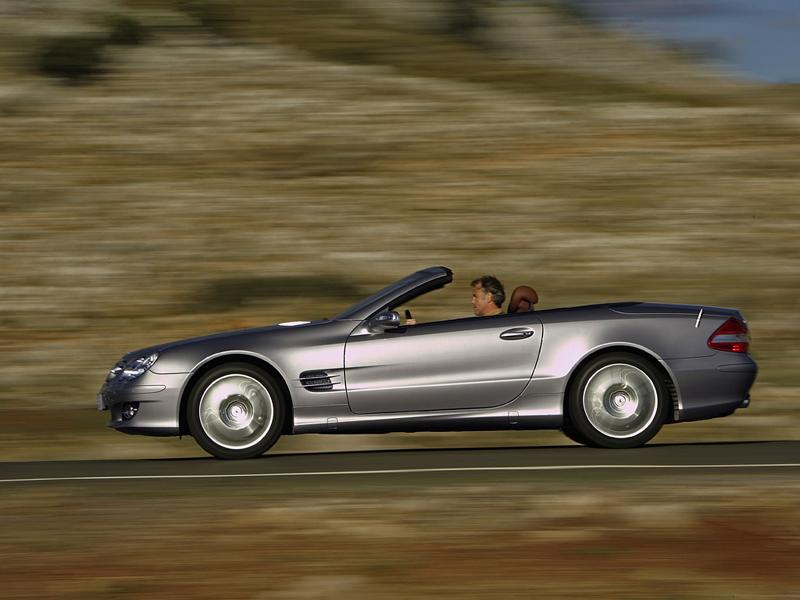 Foto Perfil Mercedes Sl Descapotable 2008