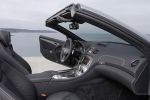 Foto Interiores Mercedes Sl class Descapotable 2009