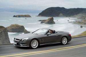 Foto Exteriores (6) Mercedes Sl-class Descapotable 2011