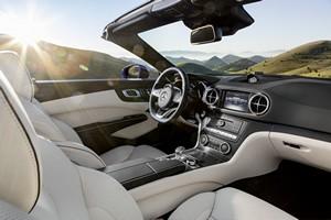 Foto Interiores Mercedes Sl-class Descapotable 2016