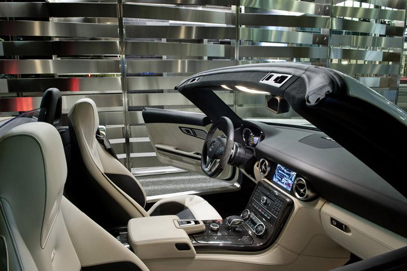 Foto Interior Mercedes Sls Amg Descapotable 2011