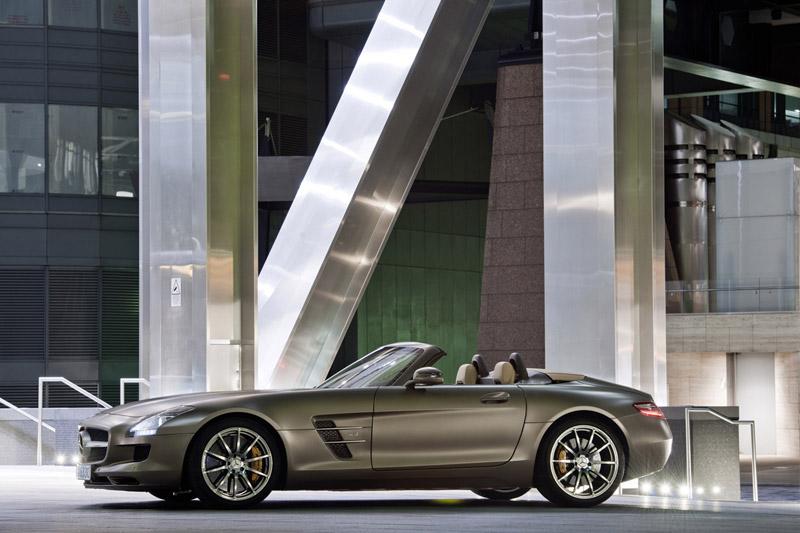 Foto Perfil Mercedes Sls Amg Descapotable 2011