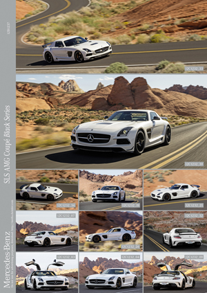 Foto Exteriores (3) Mercedes Sls-amg-coupe-black-series Cupe 2012