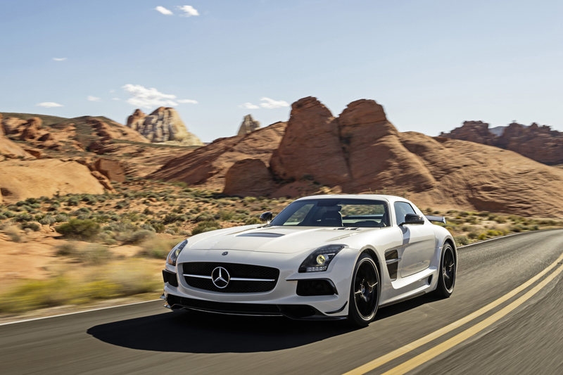 Foto Exteriores Mercedes Sls Amg Coupe Black Series Cupe 2012