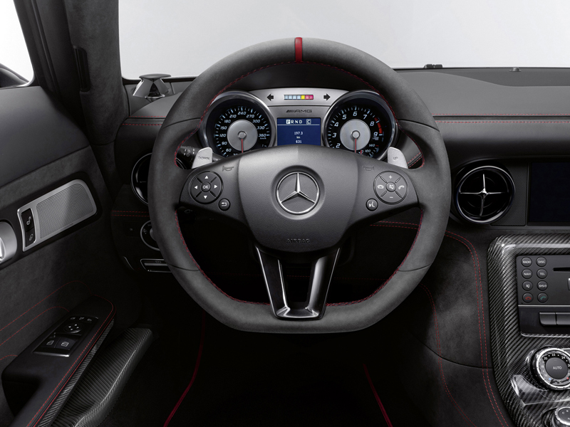 Foto Interiores (2) Mercedes Sls-amg-coupe-black-series Cupe 2012
