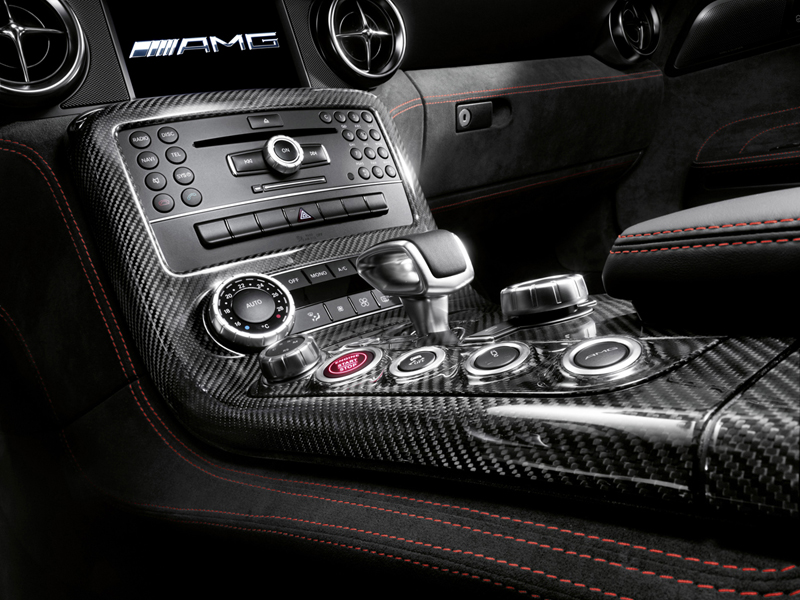 Foto Interiores (3) Mercedes Sls-amg-coupe-black-series Cupe 2012