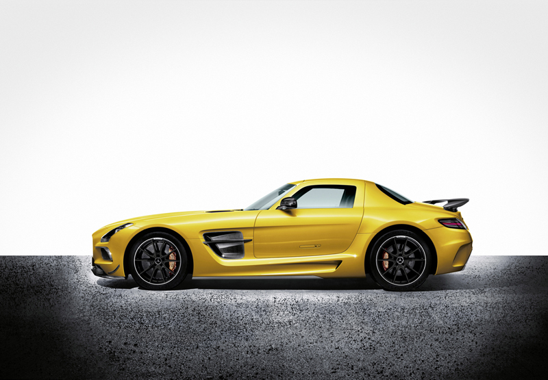 Foto Lateral Mercedes Sls-amg-coupe-black-series Cupe 2012