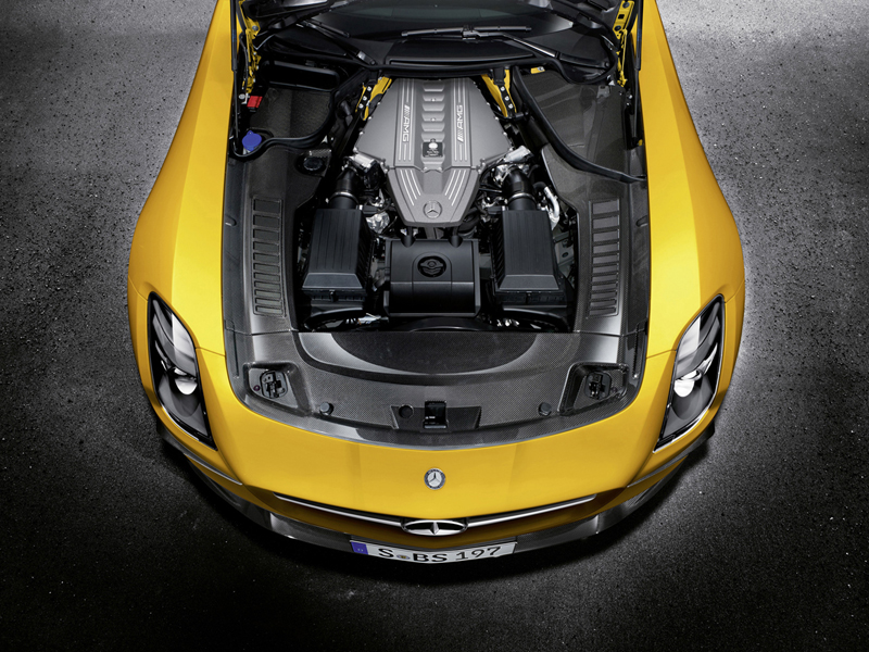 Foto Tecnicas Mercedes Sls Amg Coupe Black Series Cupe 2012