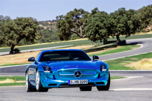 Foto mercedes sls-amg-electric-drive 2012