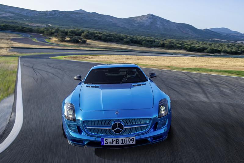 Foto Delantera Mercedes Sls Amg Electric Drive Cupe 2012