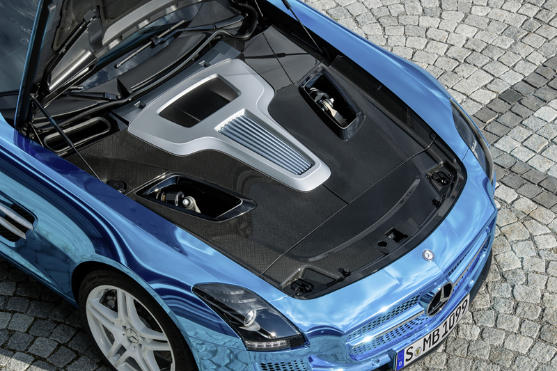 Nuevo Mercedes-Benz SLS AMG Coupe Electric Drive 2012
