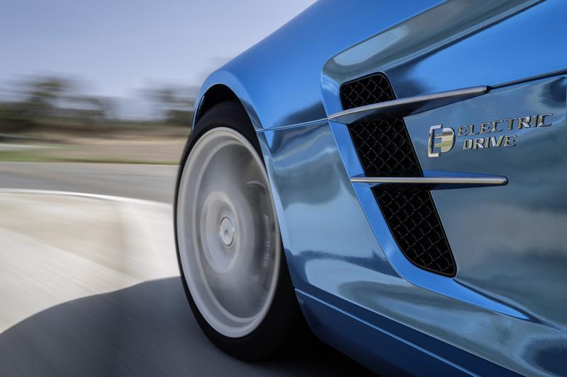 Foto Detalles Mercedes Sls Amg Electric Drive Cupe 2012