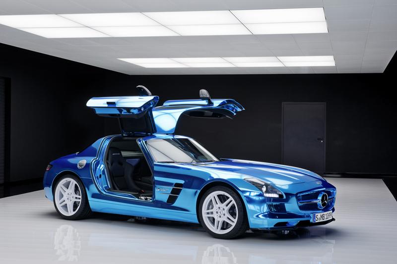 Foto Exteriores Mercedes Sls Amg Electric Drive Cupe 2012