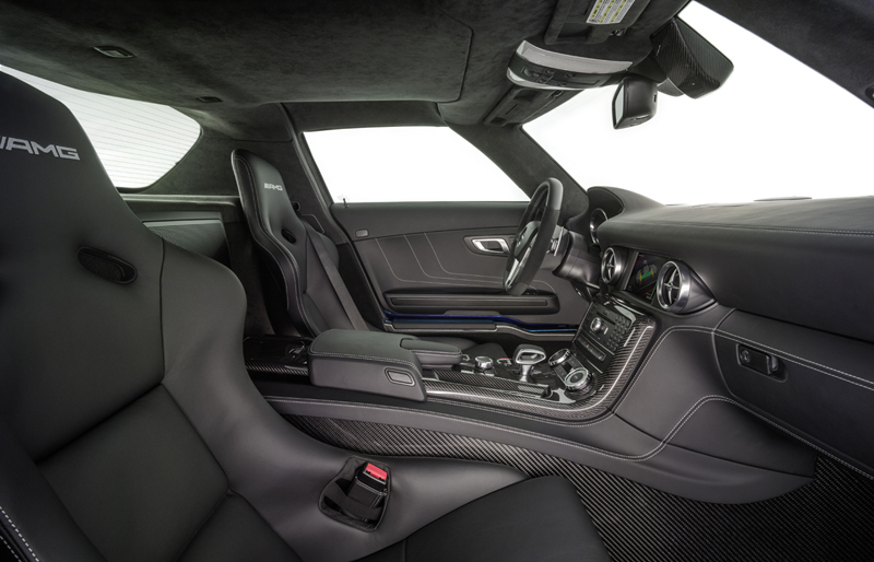 Foto Interiores Mercedes Sls Amg Electric Drive Cupe 2012