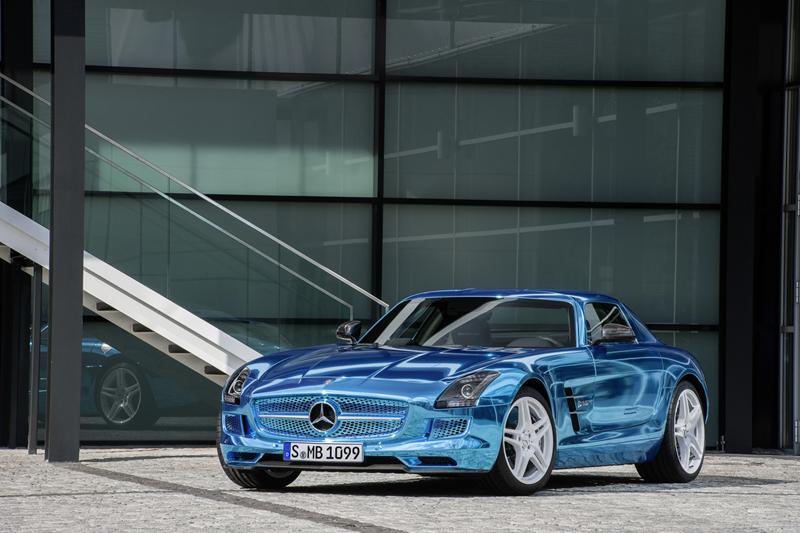 Foto Perfil Mercedes Sls Amg Electric Drive Cupe 2012
