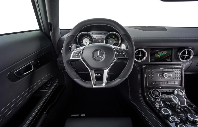 Foto Salpicadero Mercedes Sls Amg Electric Drive Cupe 2012