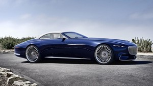 Foto mercedes vision-mercedes-maybach-6-cabriolet 2017