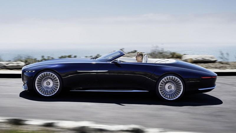Foto Exteriores Mercedes Vision Mercedes Maybach 6 Cabriolet Descapotable 2017