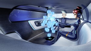 Foto Interiores Mercedes Vision-tokyo Concept 2015