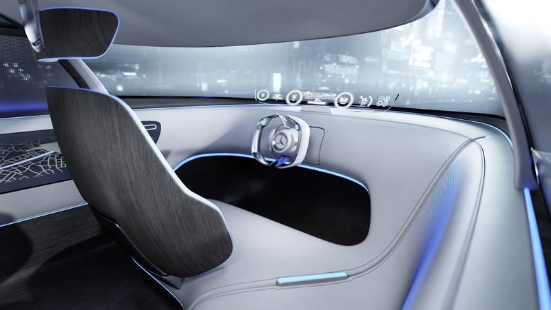 Foto Salpicadero Mercedes Vision-tokyo Concept 2015