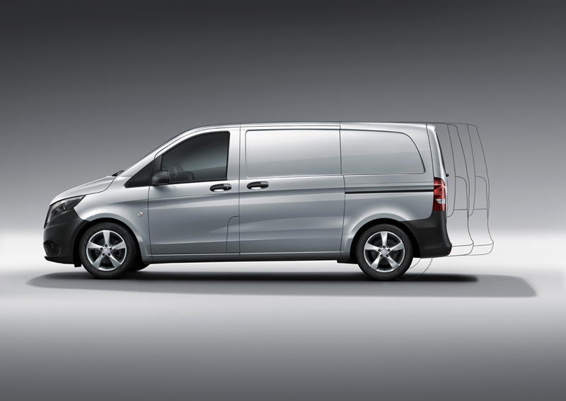 Foto Lateral Mercedes Vito Vehiculo Comercial 2014