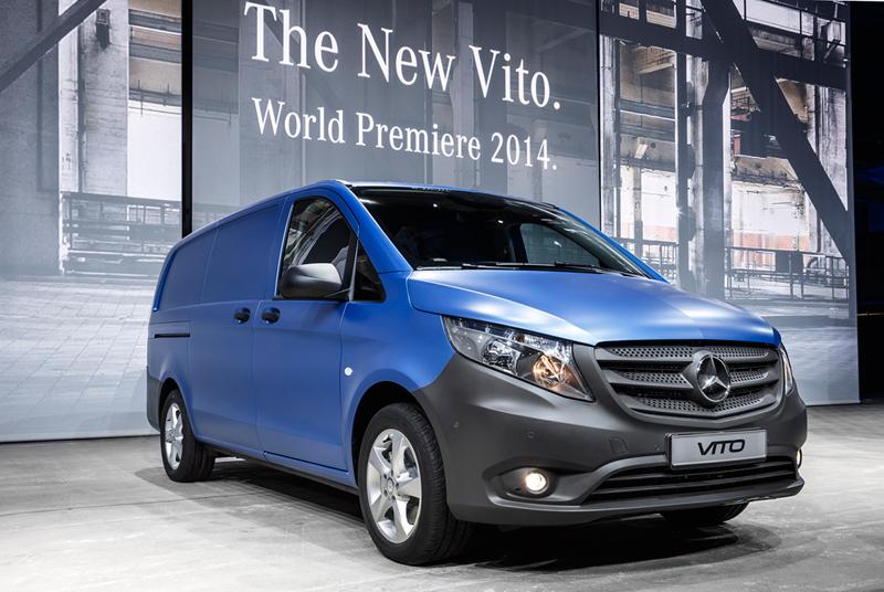 Foto Perfil Mercedes Vito Vehiculo Comercial 2014