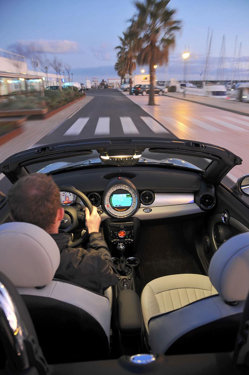 Foto Interiores Mini Roadster Descapotable 2012