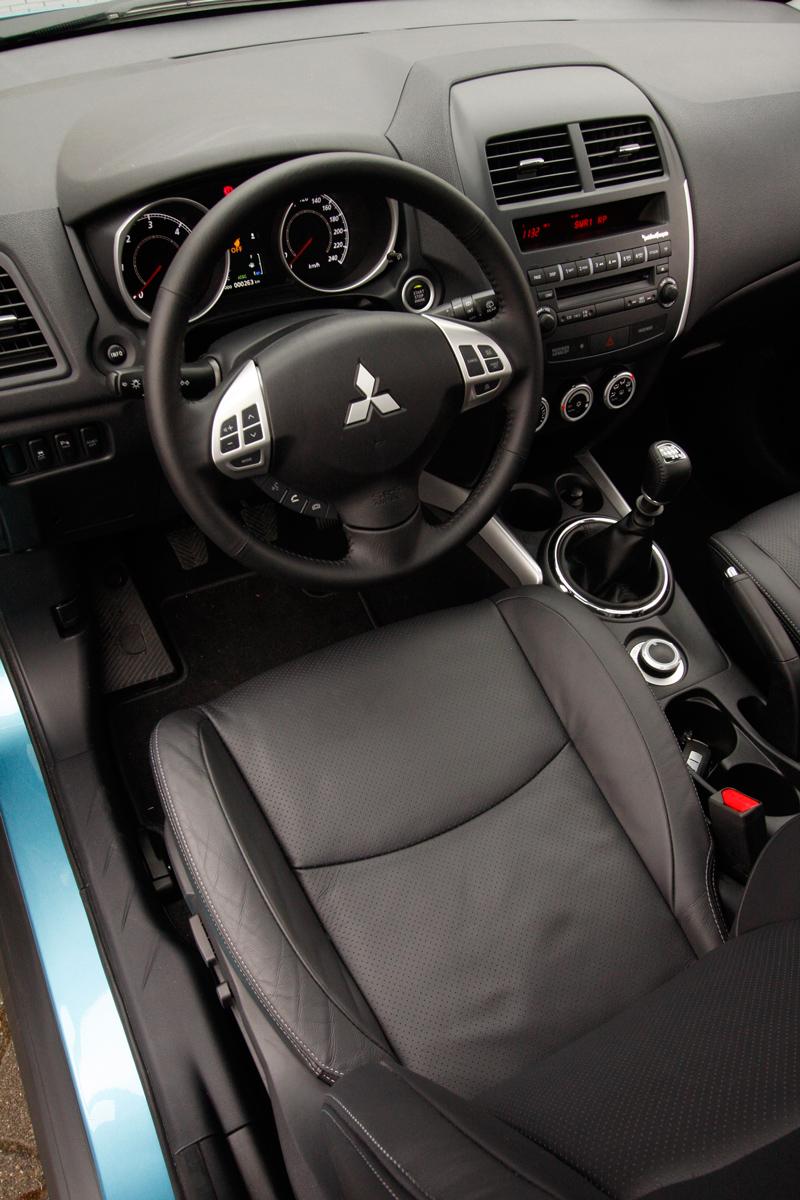 Foto Interiores Mitsubishi Asx Suv Todocamino 2010