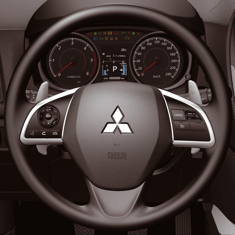 Foto Interiores Mitsubishi Asx Suv Todocamino 2013