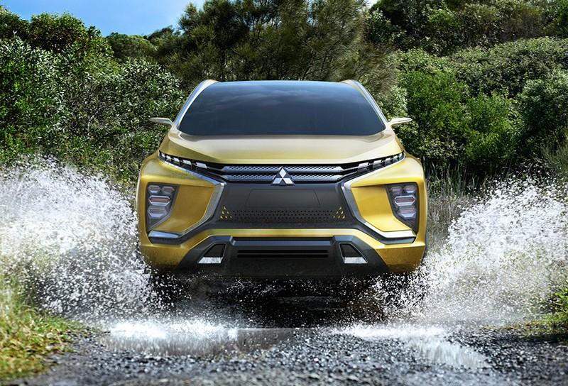 Foto Delantera Mitsubishi Ex-concept Concept 2015