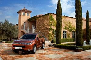 Foto Exteriores  (10) Mitsubishi Outlander Suv Todocamino 2012