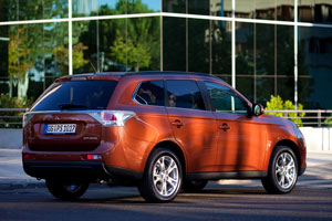Foto Exteriores  (31) Mitsubishi Outlander Suv Todocamino 2012