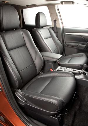 Foto Interiores (1) Mitsubishi Outlander Suv Todocamino 2012