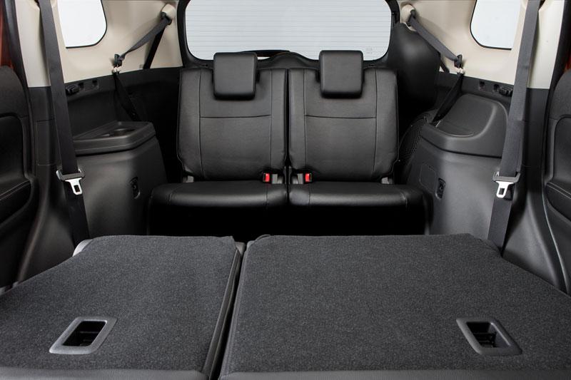 Foto Interiores Mitsubishi Outlander Suv Todocamino 2012