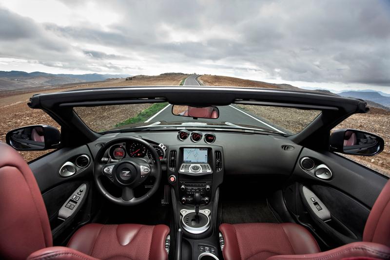 Foto Interiores Nissan 370z Descapotable 2010