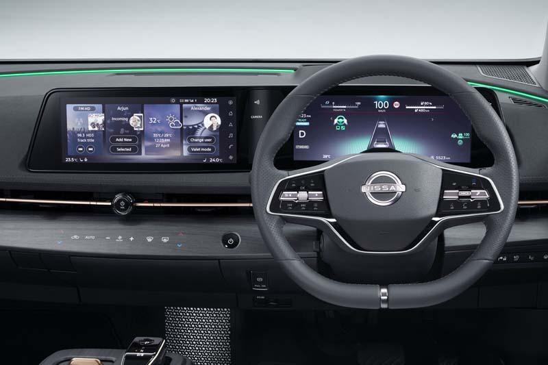 Foto Interiores Nissan Ariya Suv Todocamino 2021