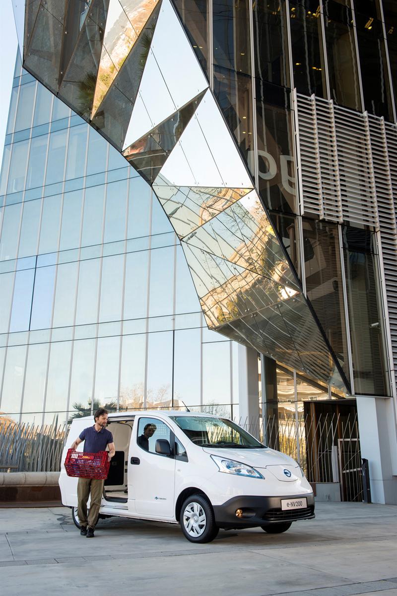 Foto Exteriores (25) Nissan E-nv200 Vehiculo Comercial 2014