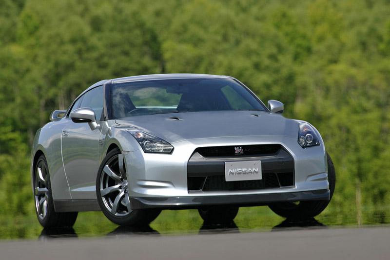 Foto Delantero Nissan Gt r Cupe 2008