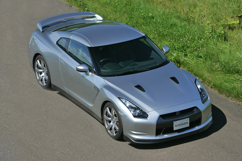 Foto Lateral Nissan Gt R Cupe 2008