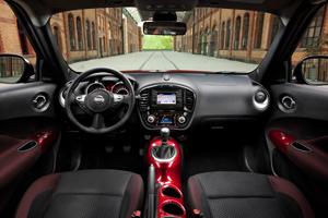 Análisis de interiores Nissan Juke