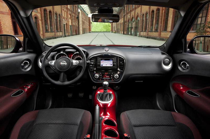 Interiores Nissan Juke