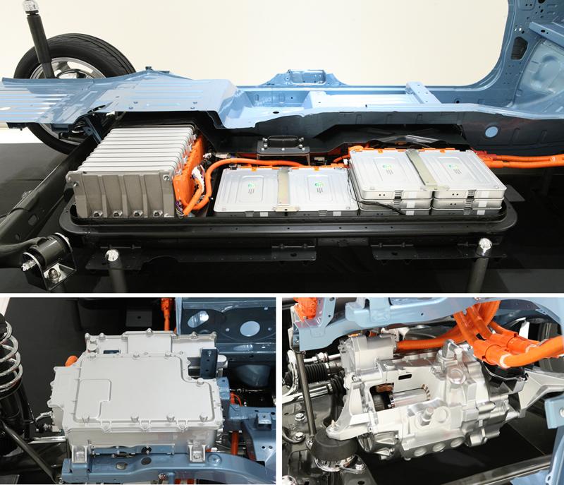 Foto Tecnicas Nissan Leaf Dos Volumenes 2010