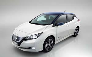 Foto Exteriores (2) Nissan Leaf Dos Volumenes 2018