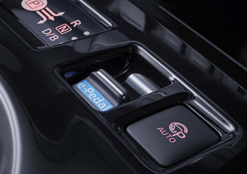 Nissan Leaf 40 KWh 2018, foto e-Pedal